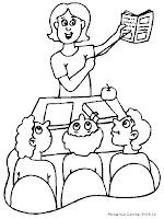 Gambar Mewarnai Hari Pendidikan Nasional