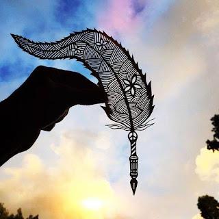 Paper Handcraft Feather