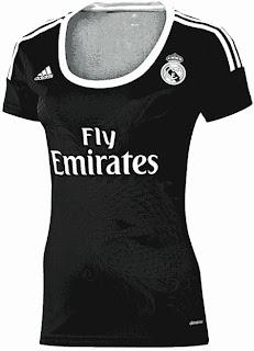 jersey madrid, grade ori, jual online baju bola real madrid hitam, ready atock