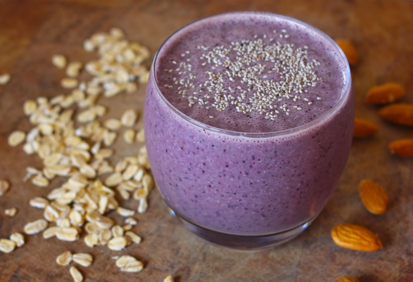Incredibly Edible: Blueberry Breakfast Smoothie