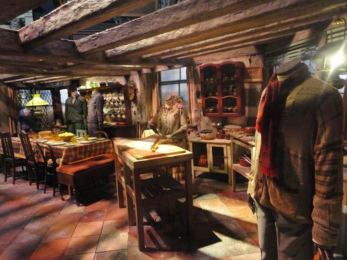 A Toca - Visitando os Estúdios de Harry Potter em Londres
