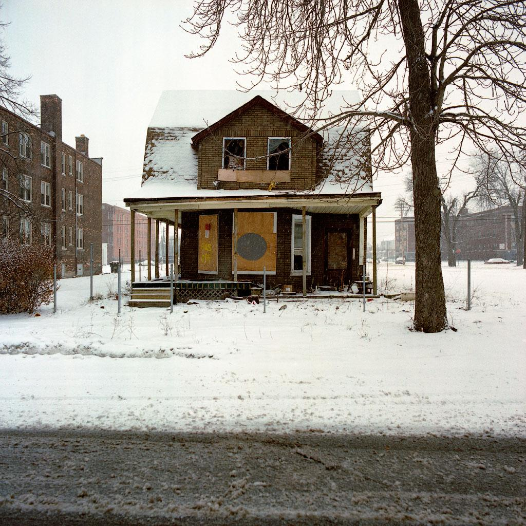 The Reel Foto Kevin Bauman 100 Abandonded Detroit Houses