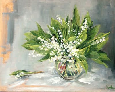 Les peintures d 39 evhe le bouquet de muguet - Bouquet de muguet photo ...