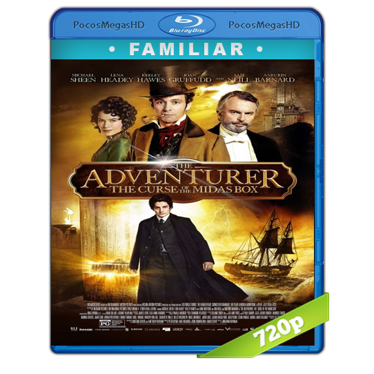 The Adventurer: The Curse of the Midas Box(2013) BrRip 720p Inglés AC3+subs‏