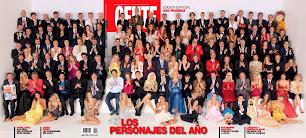 Tapa revista Gente. Los personajes del año 2014. 9 de diciembre de 2014