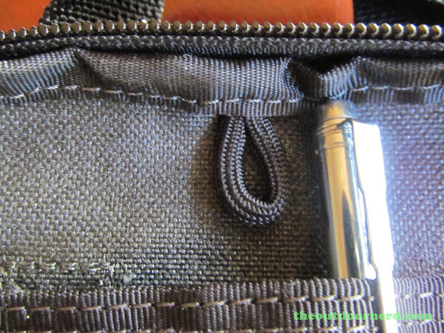 Maxpedition EDC Pocket Organizer - Showing Attachment Loop