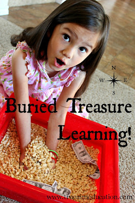 preschool treasure hunt game