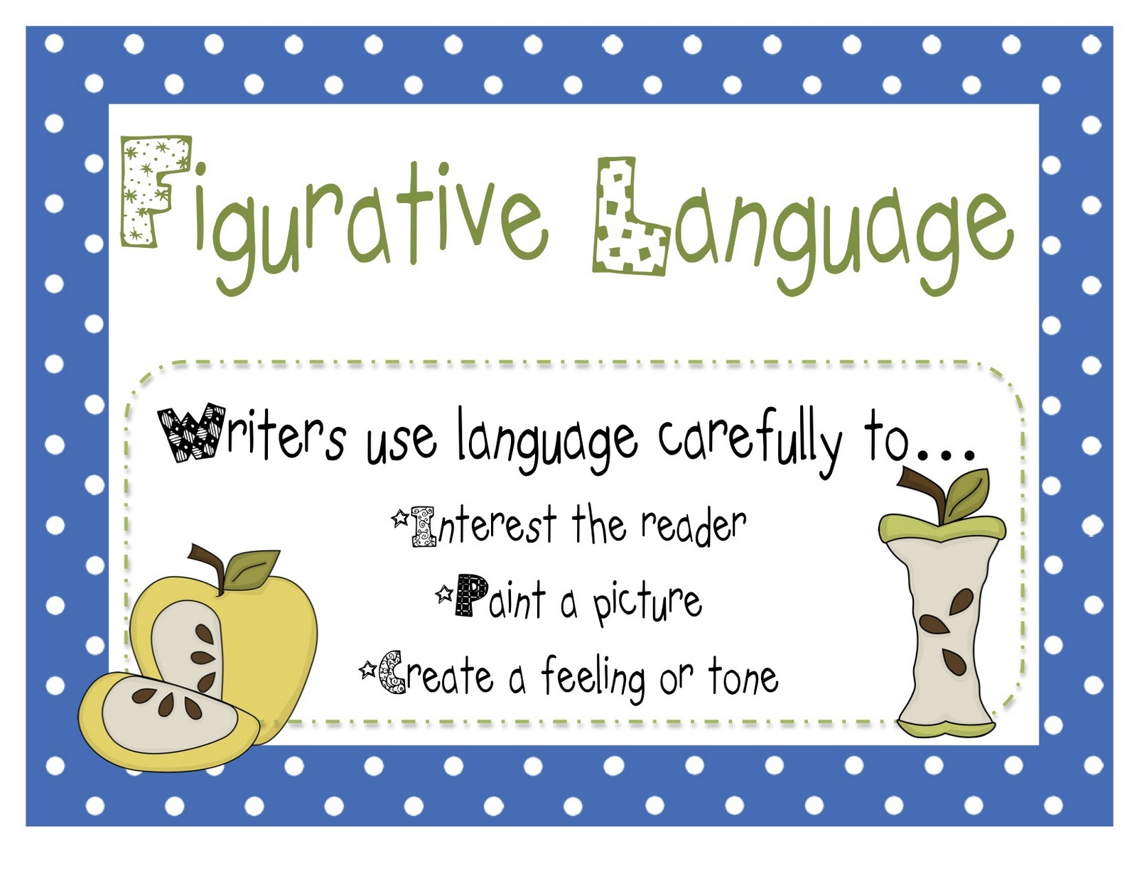 Figurative language lessons tes teach buzzing with ms b a christmas story and figurative language freebies m4hsunfo