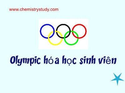Đề cương olympic hóa học sinh viên toàn quốc năm 2008