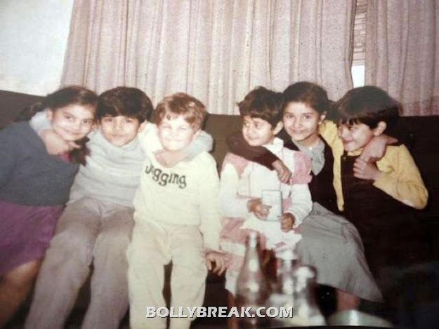 Neil nitin with his friends  - (3) -  Neil Nitin Mukesh childhood pics