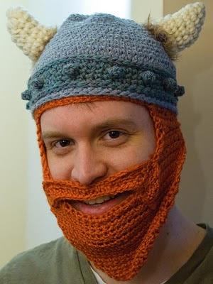 Crochet Viking Beard Hat Pattern Free : Viking Beard Hat Images & Pictures - Becuo