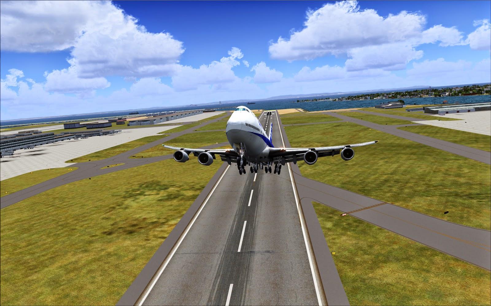 Flight simulator 2014