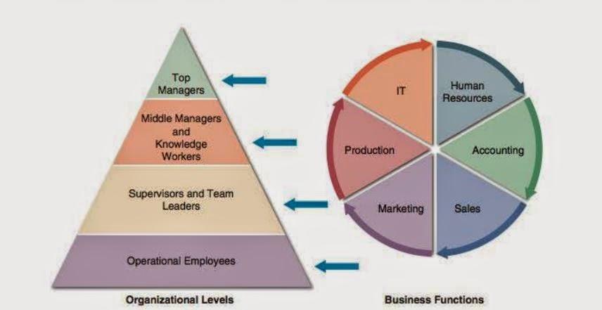 مخطط المستويات التنظيمية