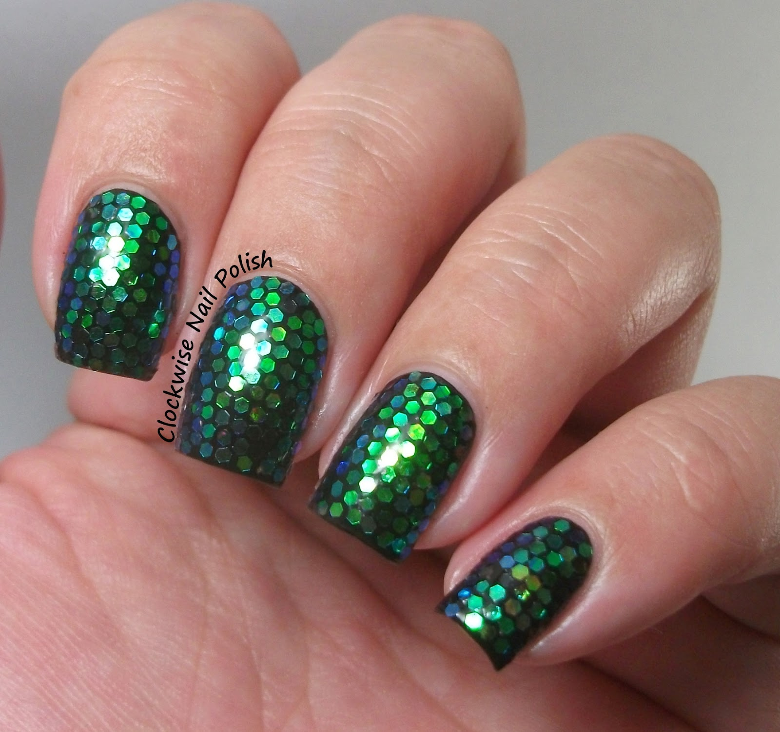 The clockwise nail polish party nails glitter placement nail art prinsesfo Image collections