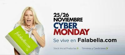 cyber monday falabella 25-26 noviembre 2013