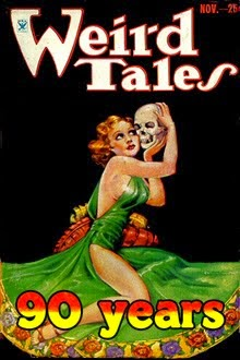 90 YEARS OF WEIRD TALES