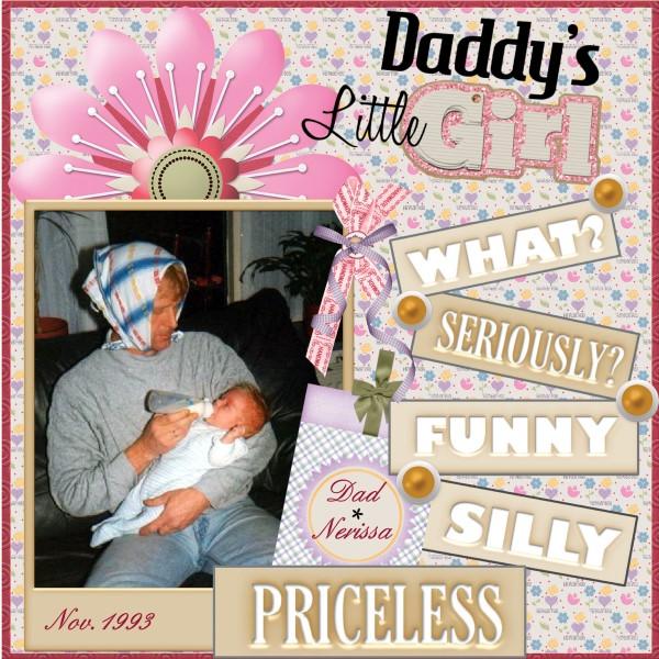 Feb.2016 - Daddy's little girl