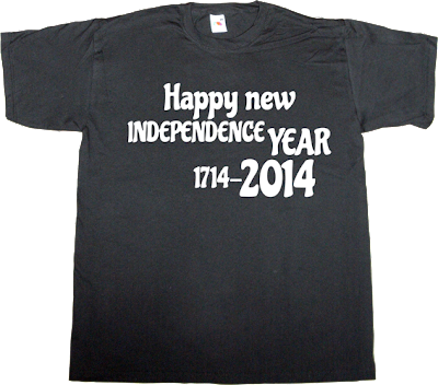 catalonia independence freedom 2014 1714 t-shirt ephemeral-t-shirts happy