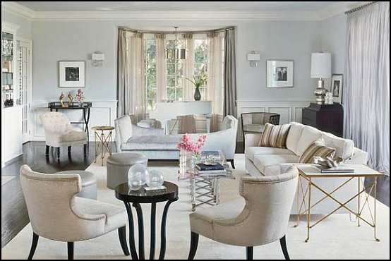 Decorating theme bedrooms maries manor hollywood glam Glamorous living room furniture