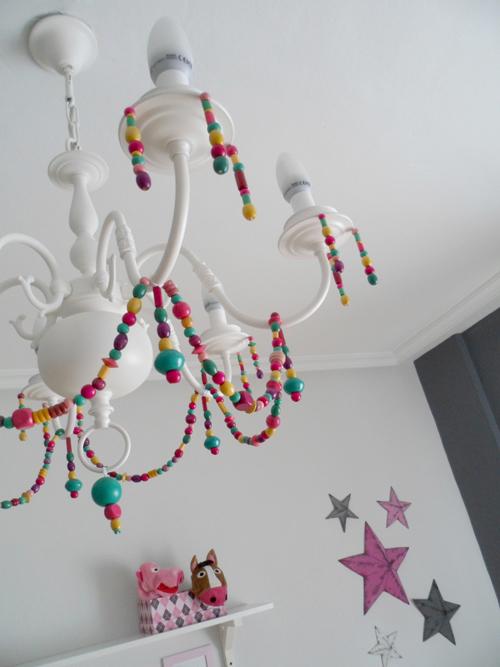Lalole blog lampara de ara a reciclada antes y despues - Pintar lamparas de techo ...