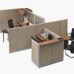 Kantor Partisi Modera Workstation 6-5-Series