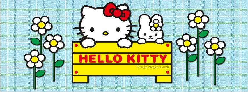 Foto Sampul Facebook Hello Kitty