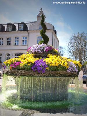 Blumenbrunnen in Timmendorfer Strand
