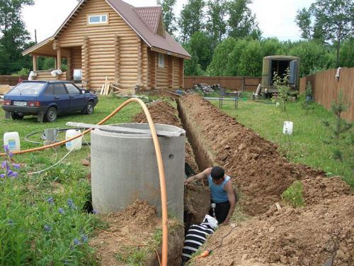 Как сделать канализацию в бани