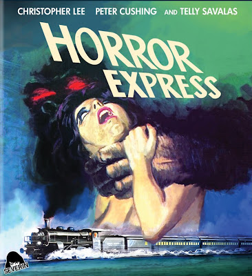 horror express 1972 poster panico en el transiberiano bluray cover