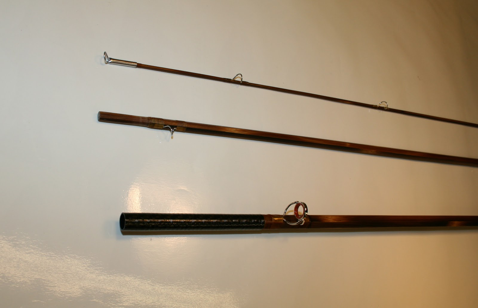 Carpenter bros bamboo fly rods spey rod with carbon