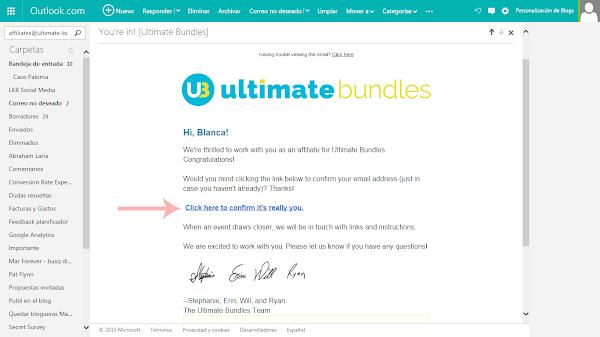 Ganar dinero como afiliadas del bundle