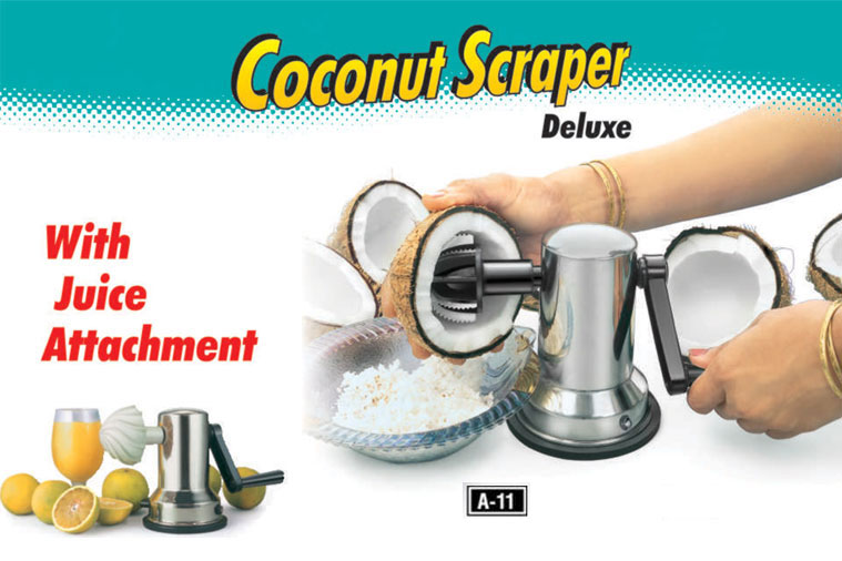 Coconut scrapper - Kitchen Product | Latest Kitchen Appliances ...