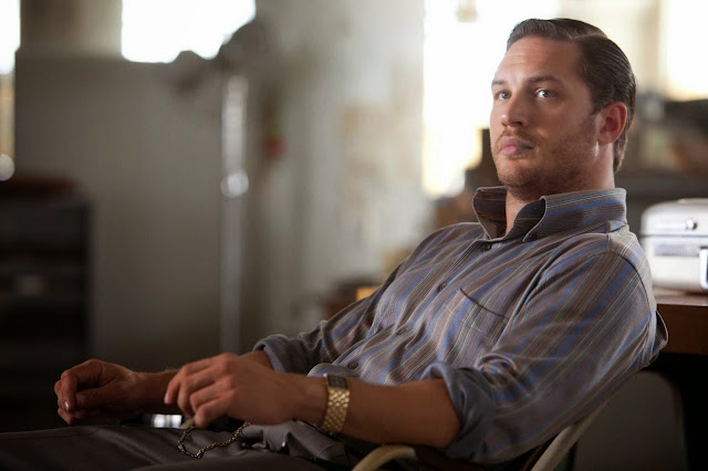 "Tom Hardy in a scene from Christopher Nolan's ""Inception"""