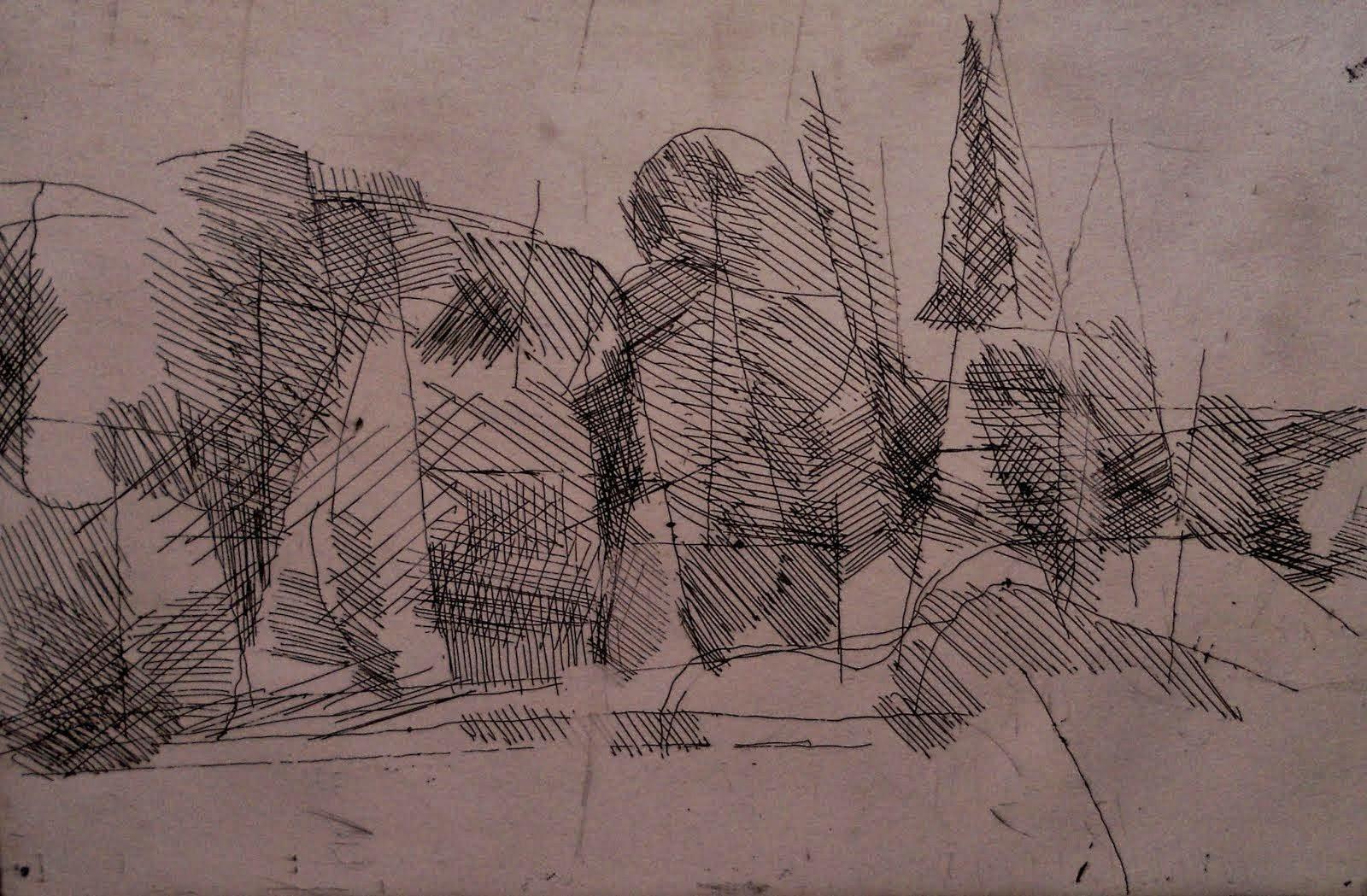 Utställning Nr 4 - GRAFIK - Göte Hultqvist