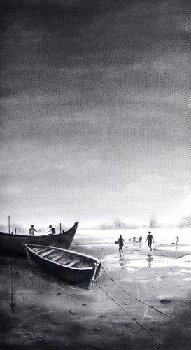 Pradarshak presents Debut Solo Exhibition of Dry Pastel Paintings by Pramod Thakare