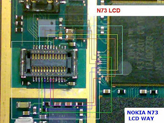 Nokia N73 LCD Way Jumper