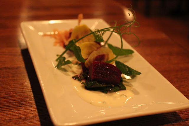 Roasted beets at Moxy, Portsmouth, N.H.