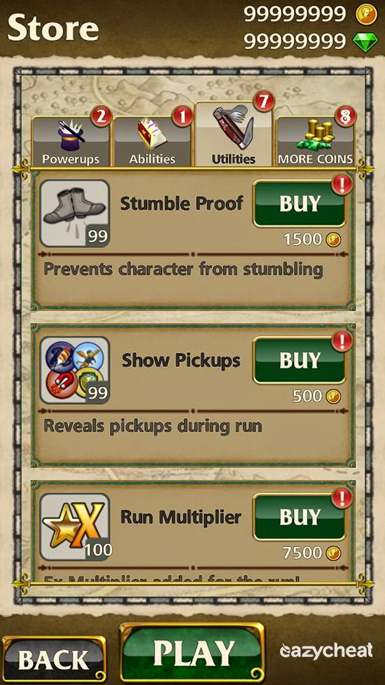 Temple Run Oz Cheats Easiest Way To Cheat Android Games