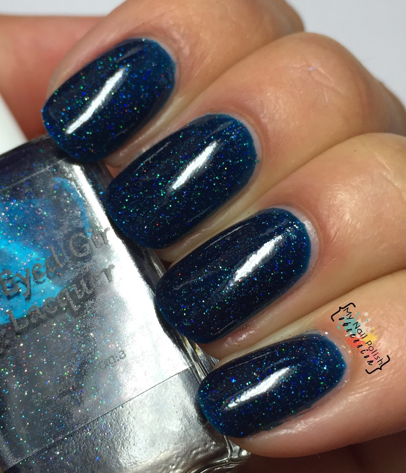 Blue Eyed Girl Lacquer Bound To City Life