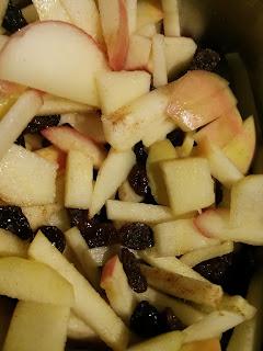 apple raisin