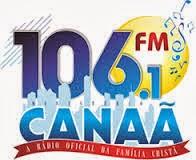 ouvir a Rádio FM Canaã 106,1 Cascavel CE