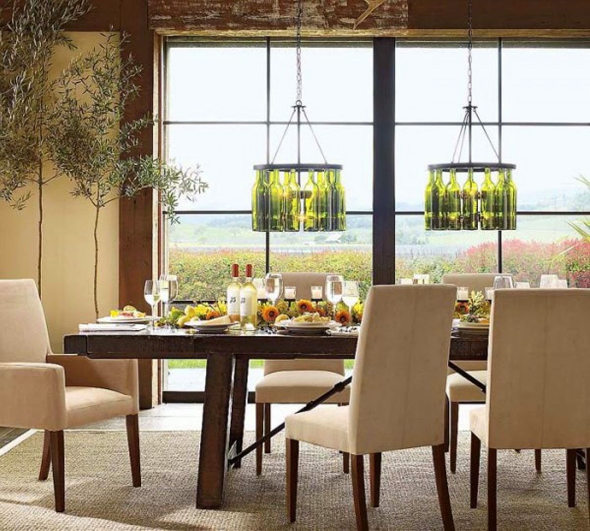 Pottery Barn Dining Room Lighting