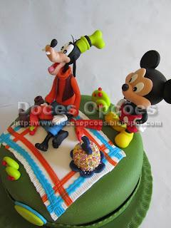Bolo Mickey e Pateta