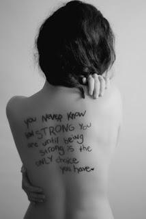 você nunca sabe quão forte você é