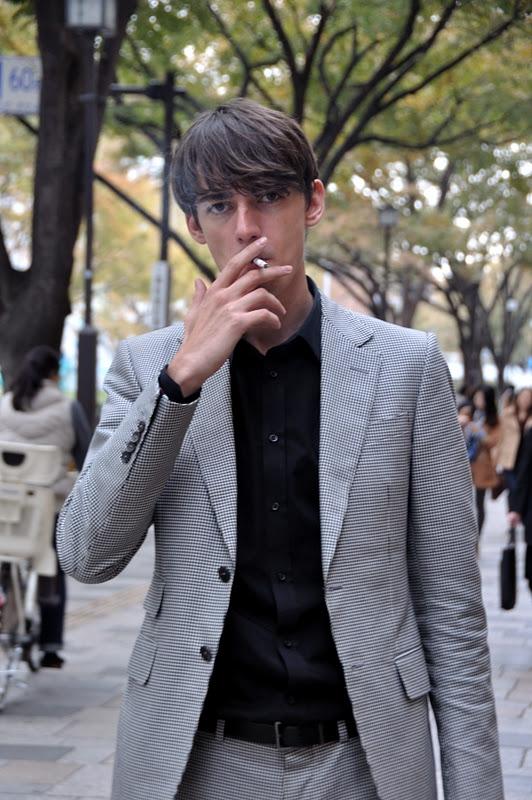 MITYP: 【SMOKING】 on the street .. Omotesando / Japan