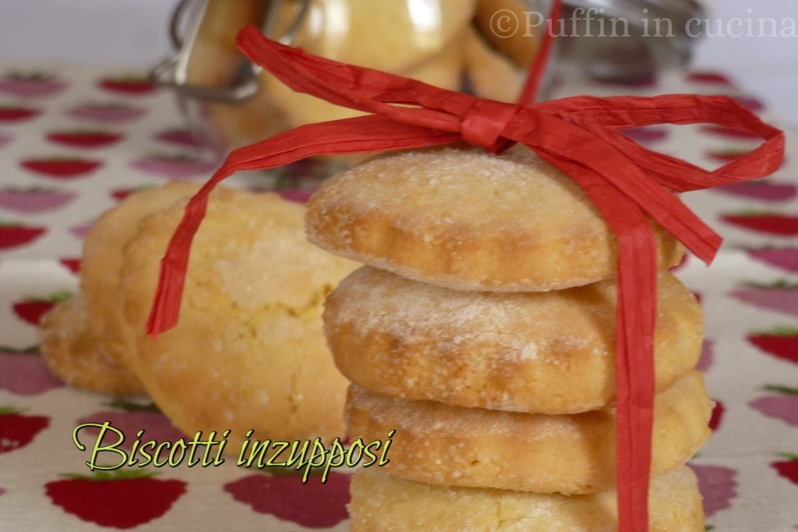 biscotti inzupposi per una prima colazione