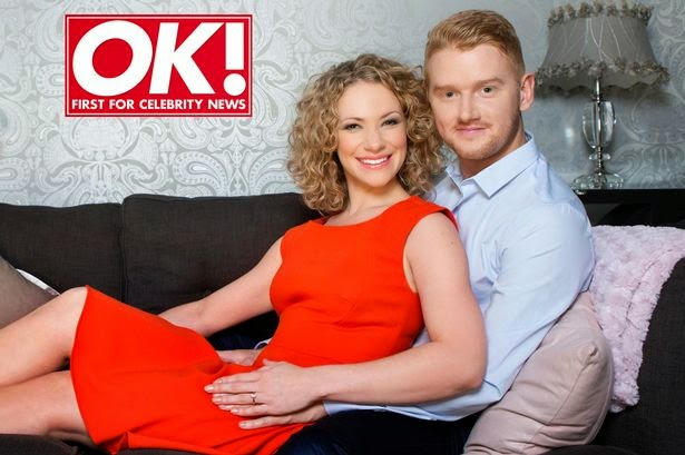 bluenose corrie blogger mikey north marries his fiancee
