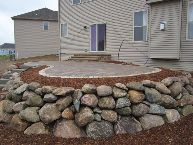 Raised Brick Paver Patios Have Many Options To Choose From For Construction