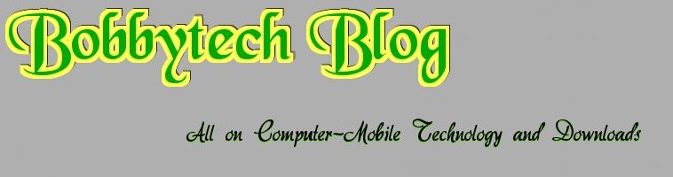 Bobbytech Blog