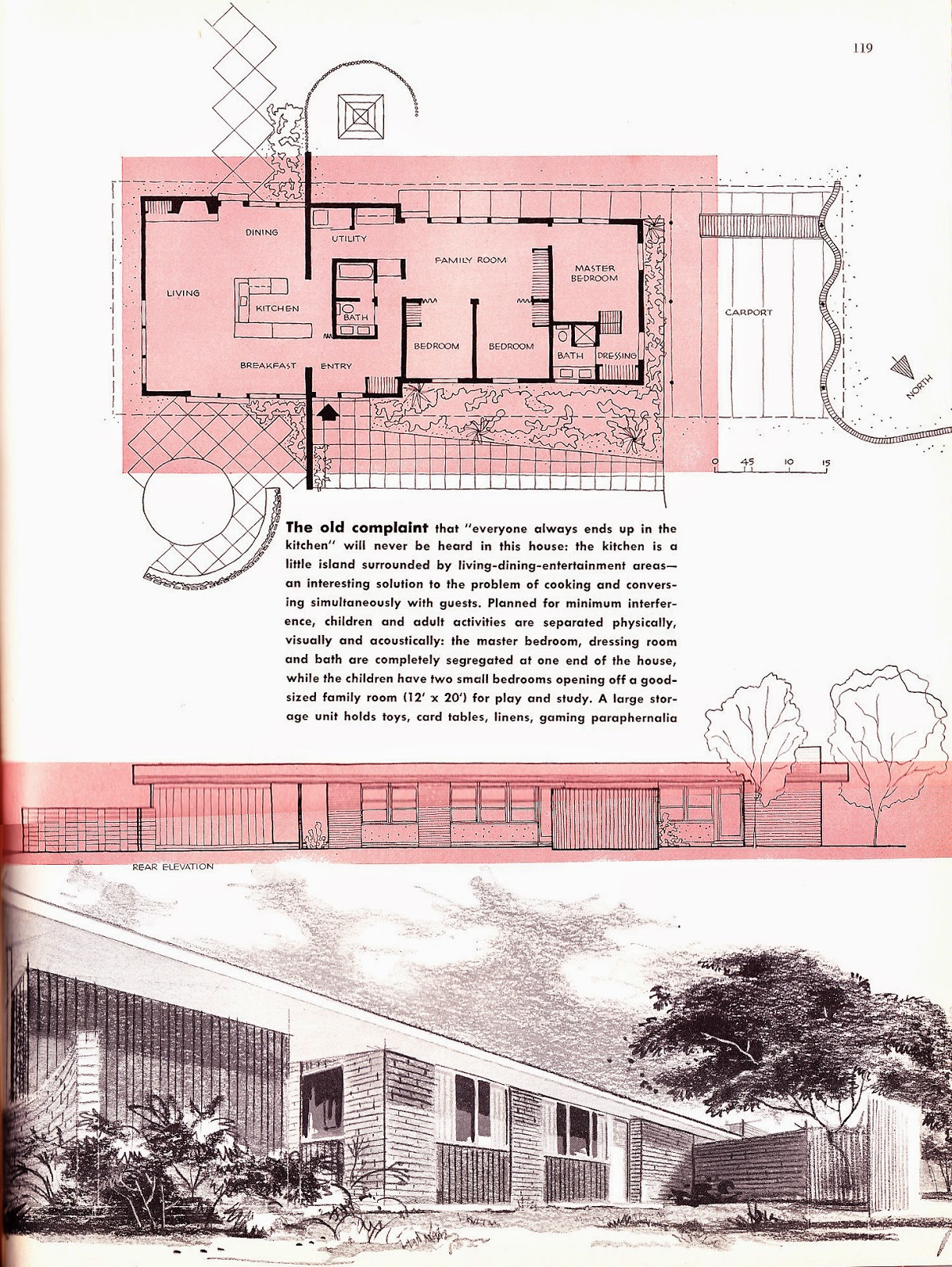 Retro Rockets Parade Of 1956 Home Plans 13 Lexington Ky